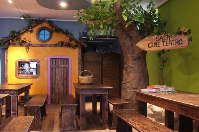 Scenografie pub locali la bacchetta magica for Arredo ludoteche